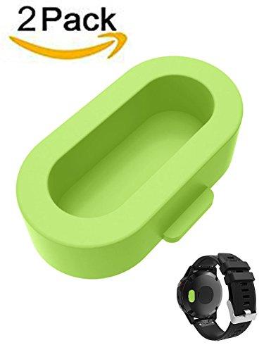 Prueba de Polvo Cap, weant nt8305pulsera puerto pantalla resistente y tapón antipolvo para Garmin Fenix 5/5x/5S, hombre Infantil mujer, verde